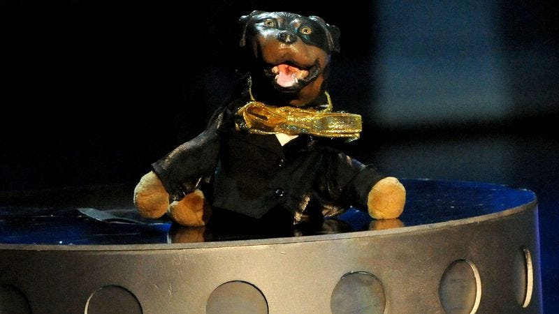 69bc01f08d9 Illustration for article titled Triumph The Insult Comic Dog to poop on  Jack McBrayer for Adult