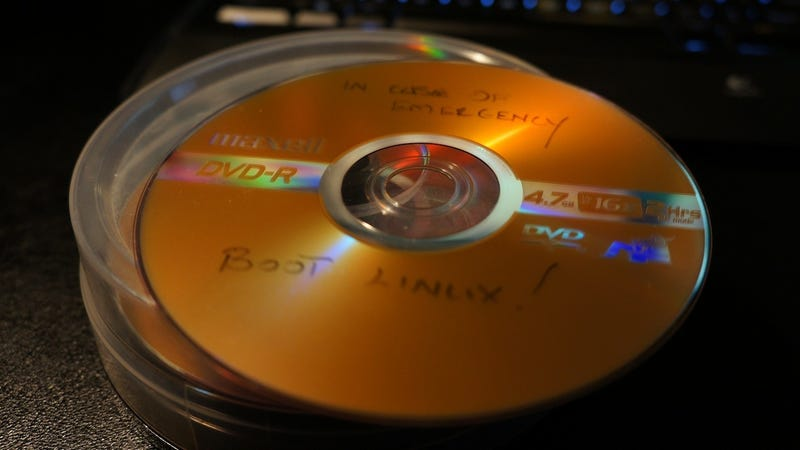 Recover cd data online