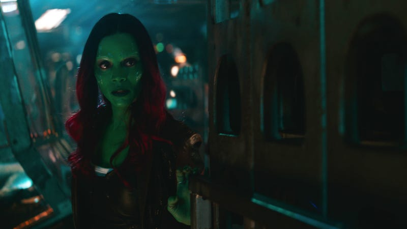 Gamora is a huge part of the success of Infinity War