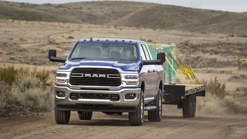 Illustration for article titled The Cheapest 2019 Ram Heavy Duty Starts at $33,395