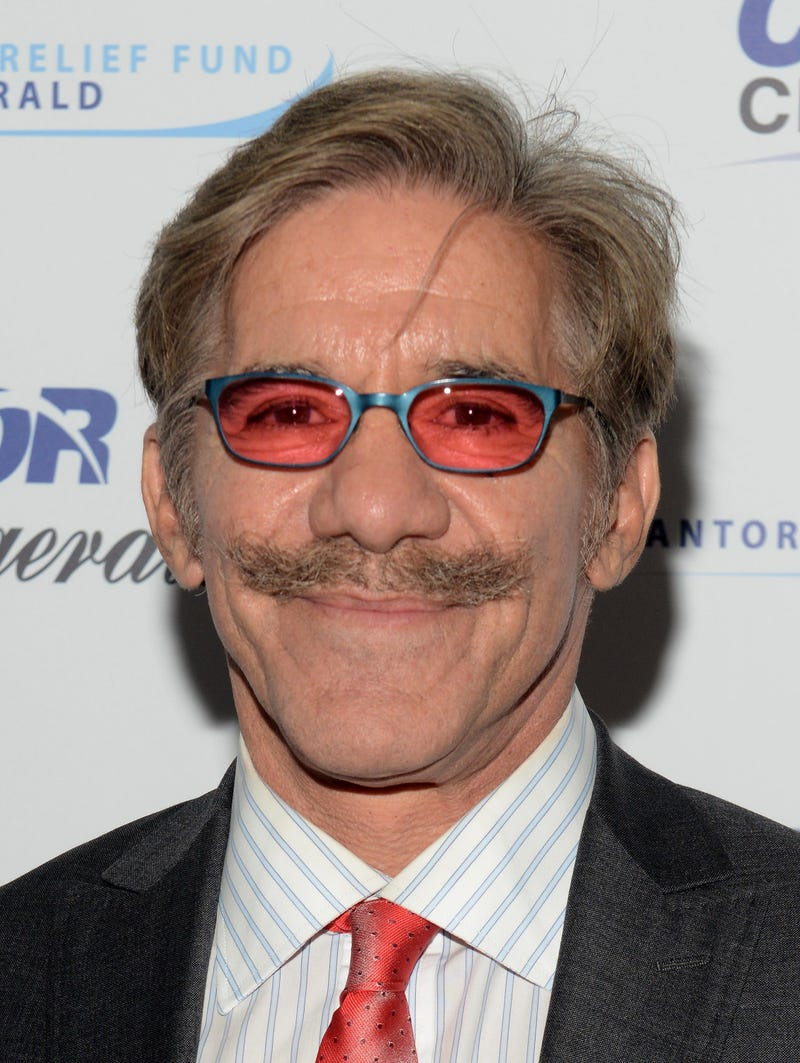 Geraldo Rivera in his vintage Blue Blocker sunglasses, circa '92 (Noam Galai/Getty Images for Cantor Fitzgerald)
