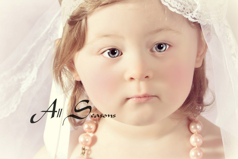 Illustration for article titled Great Idea for Your Small Baby: Buy Her a 'Future Bride' Photoshoot