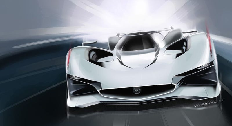 Illustration for article titled Mazda revela su visión del auto ideal para Gran Turismo
