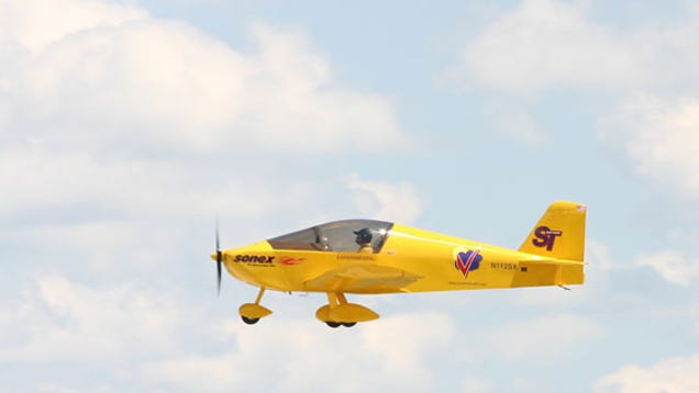 Electric Motor For Sonex Sports Aircraft Cleared For Take Off