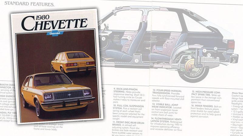 Illustration for article titled You've Got to Admire How Hard This 1980 Chevette Brochure Is Trying