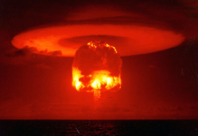 Photographs of Atomic Bomb Tests Are Like Science Fiction ...