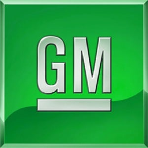 New General Motors Company Logo May Go Green