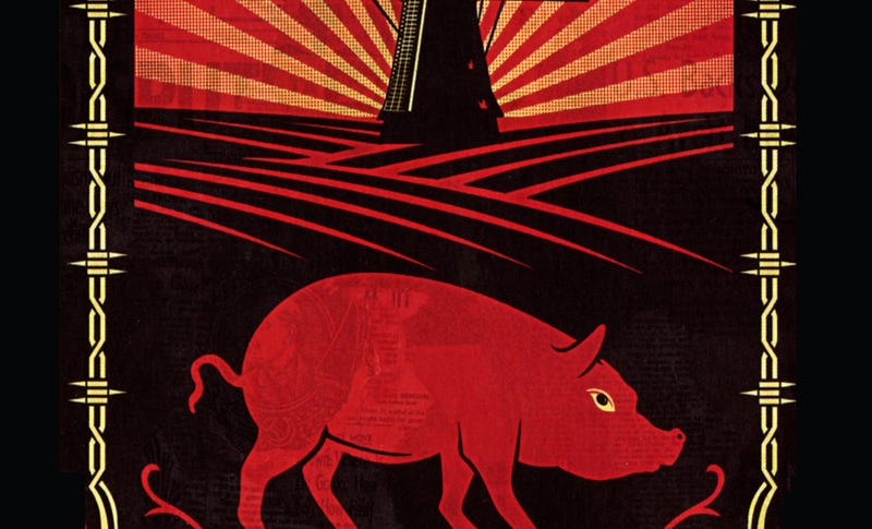 Illustration for article titled Did George Orwell Borrow Animal Farm From a 19th Century Russian Author?