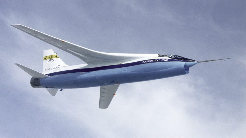 Illustration for article titled How NASA's Supercritical Wings Save Airlines Millions Every Year