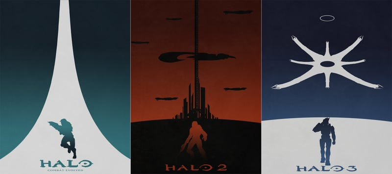 Illustration for article titled Thirteen Years Of Halo Nostalgia In Six Perfect Posters