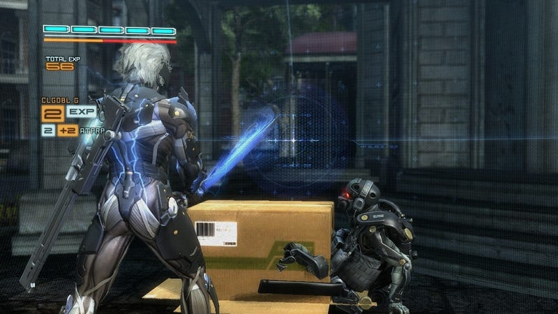 Illustration for article titled This is Not the Best New Screenshot of Metal Gear Rising: Revengeance