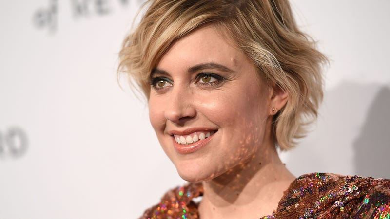 Gerwig at the NBR awards last night in New York. (Photo: Angela Weiss/Getty Images)