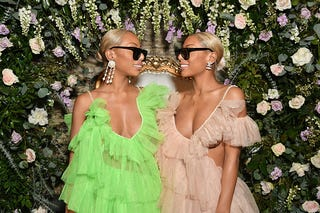 Shannon Clermont and Shannade Clermont attend as Instagram celebrates #BlackGirlMagic and #BlackCreatives on February 23, 2018 in New York City.