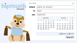Illustration for article titled Agony-Free Flight Search Tool Hipmunk Now Searches Hotels