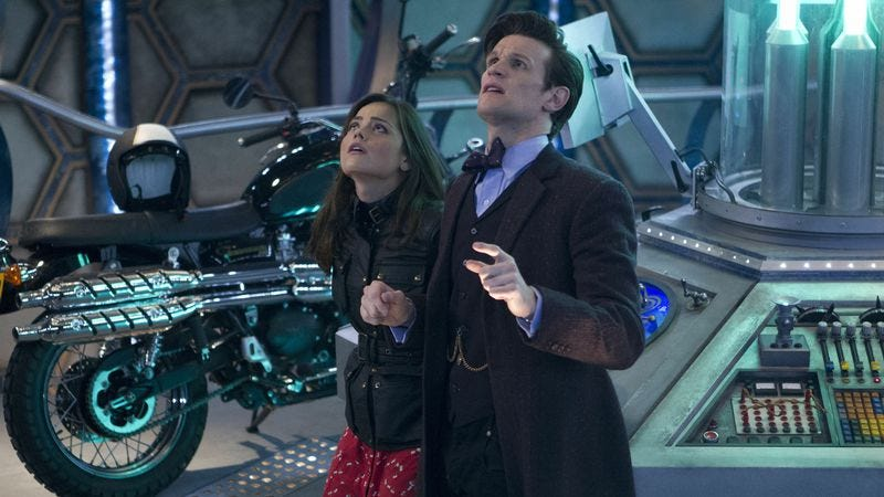 Illustration for article titled Which Doctor Who showrunner did it better?