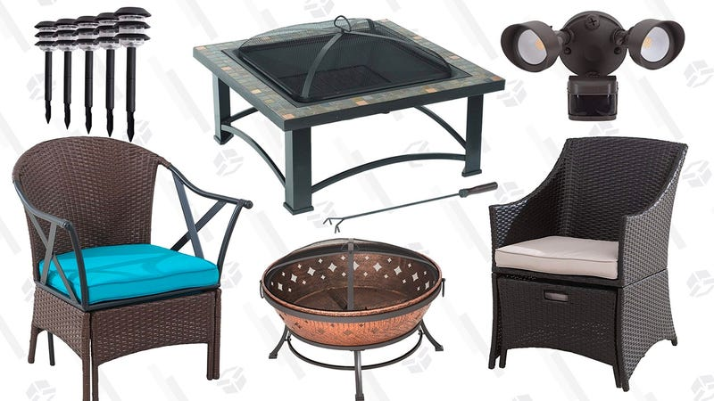 Up to 30% off Patio and Deck Furniture | Amazon | Prime members only