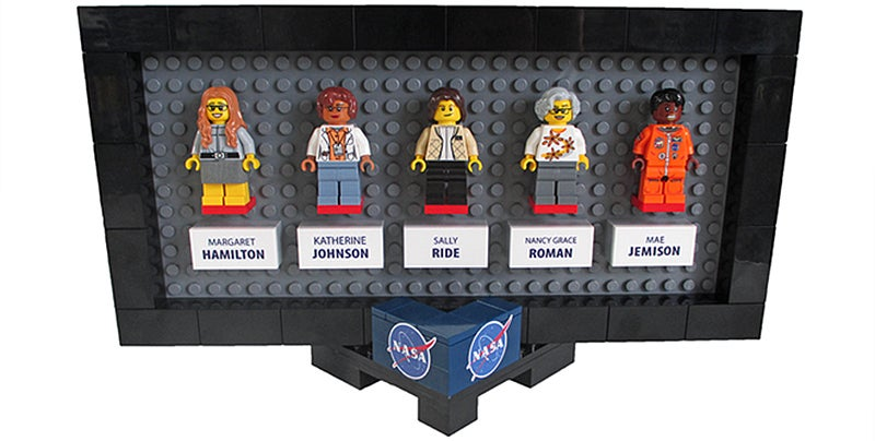 Women Of NASA To Be Immortalized - In Lego Form