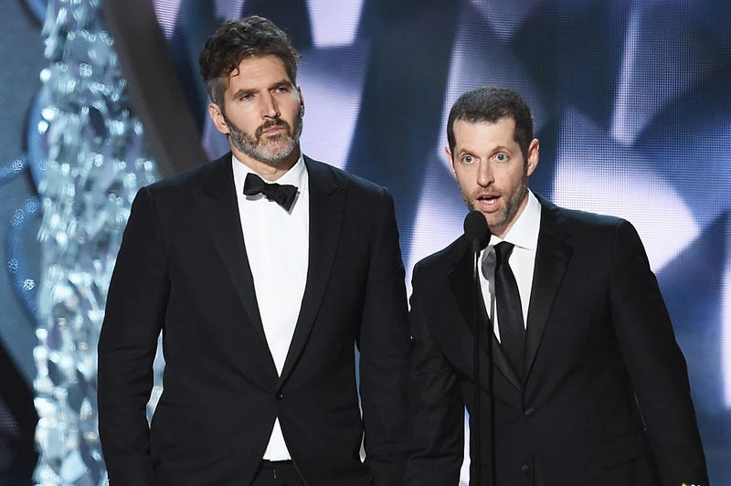 David Benioff and D.B. Weiss (Kevin Winter/Getty Images)