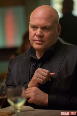 Illustration for article titled Vincent D'onofrio Is Looking Kingpin-y As Hell In First Daredevil Pic