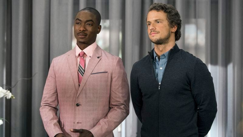 B.J. Britt, Freddie Stroma (Photo: Lifetime)