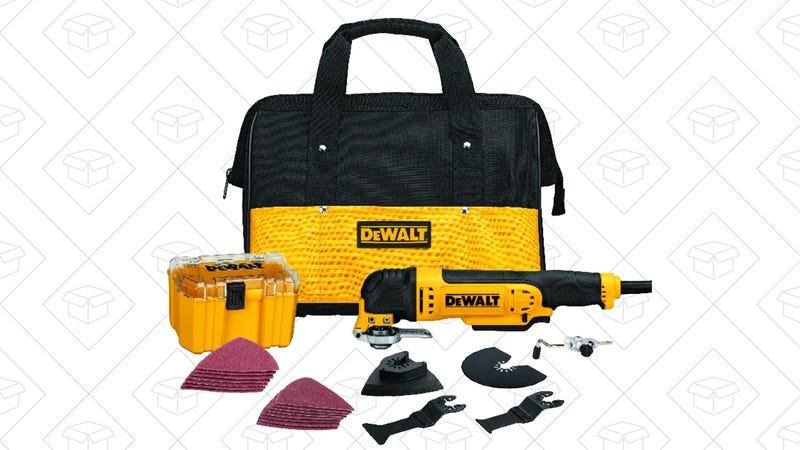 DEWALT Oscillating Tool Kit + Triangle Scraping Blade, $99