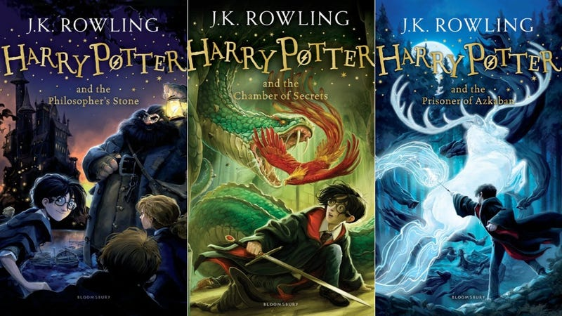 Illustration for article titled Fun New Harry Potter Covers Look Like Concept Art For A Cartoon Series