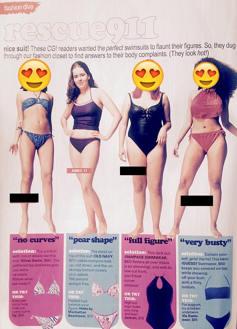 f955ba89b8 This School Offering 'Bikini Body' Classes Reminded Me of My Modeling Days
