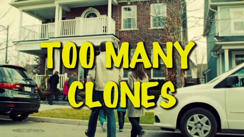 "Illustration for article titled ""Too Many Clones"" revels in Tatiana Maslany's many Orphan Black roles"
