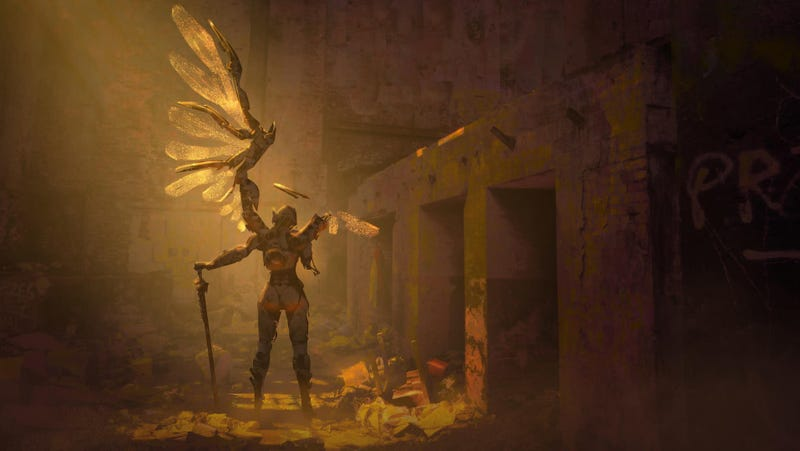 Illustration for article titled Fallen Angel