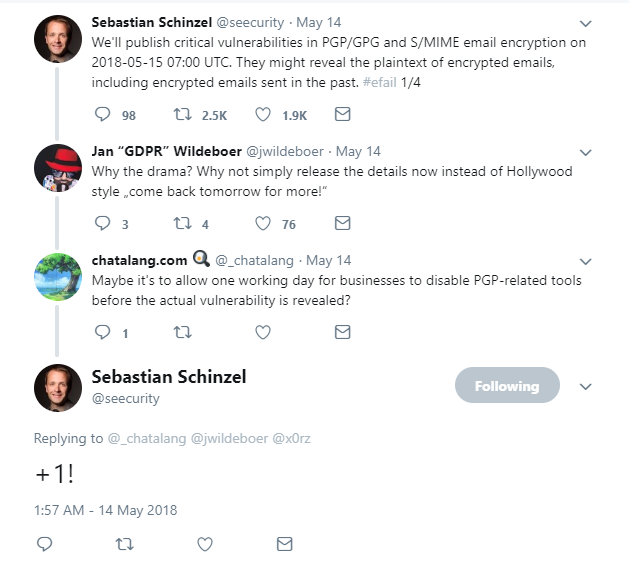 New PGP Encryption Exploits Are Being Discovered Almost