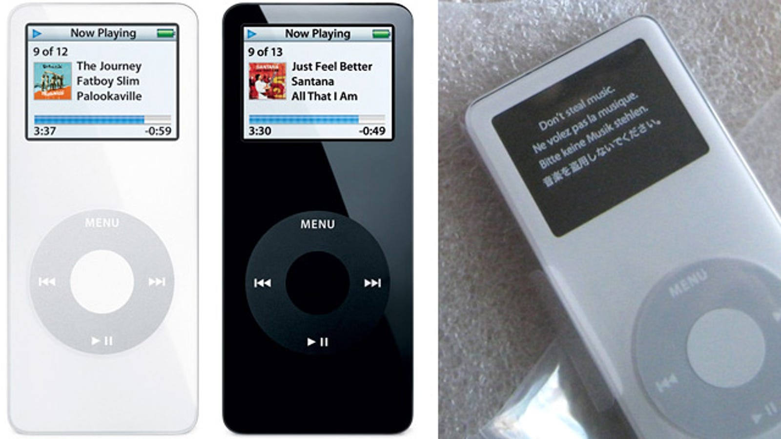 Apple's Recalled First Gen iPod Nanos Are Being Replaced With the Same Model