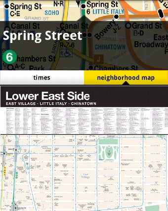 Illustration for article titled NYCmate Puts a Complete NYC Transit Guide on Your Phone