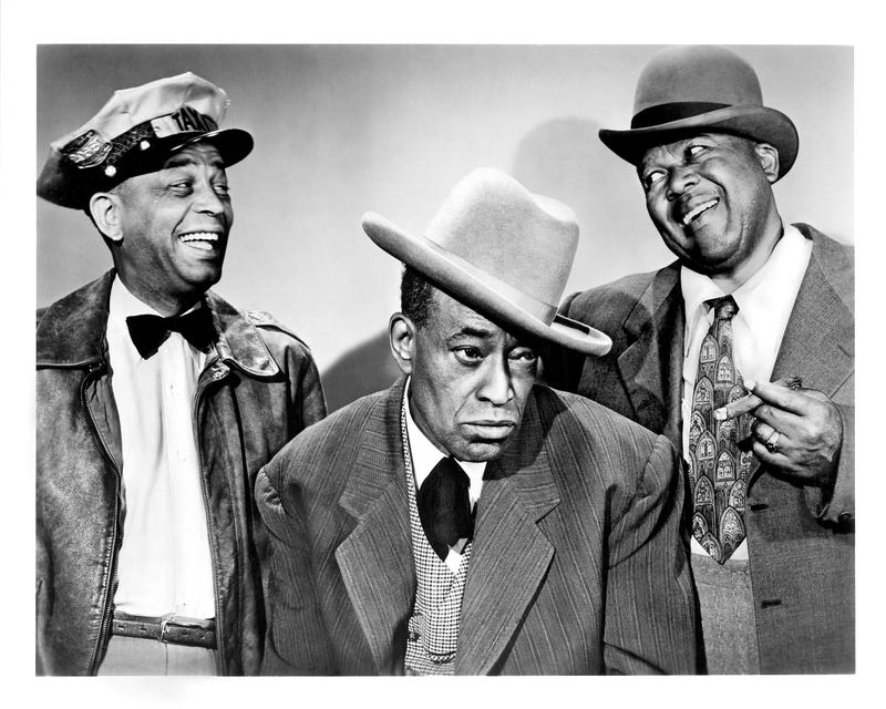 Publicity still portrait of American actors Spencer Williams, Alvin Childress and Tim Moore from the CBS television sitcom The Amos 'n Andy Show, New York, 1951John D. Kisch/Separate Cinema Archive/Getty Images