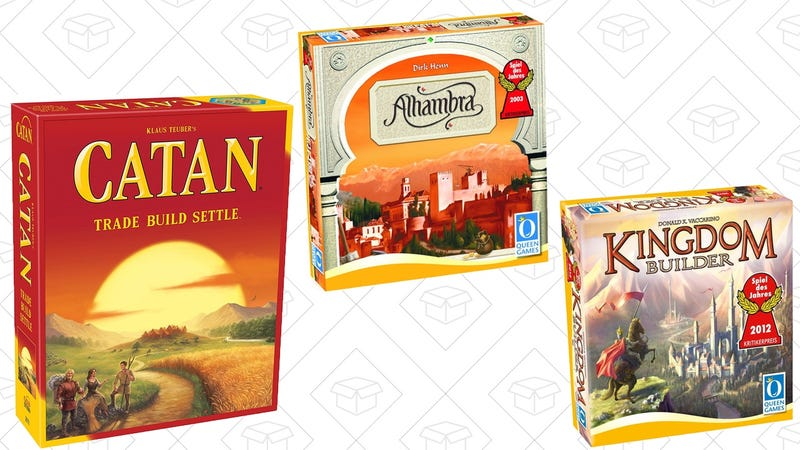 Amazon Board Game Sale | Settlers of Catan, $30 (Separate Deal)