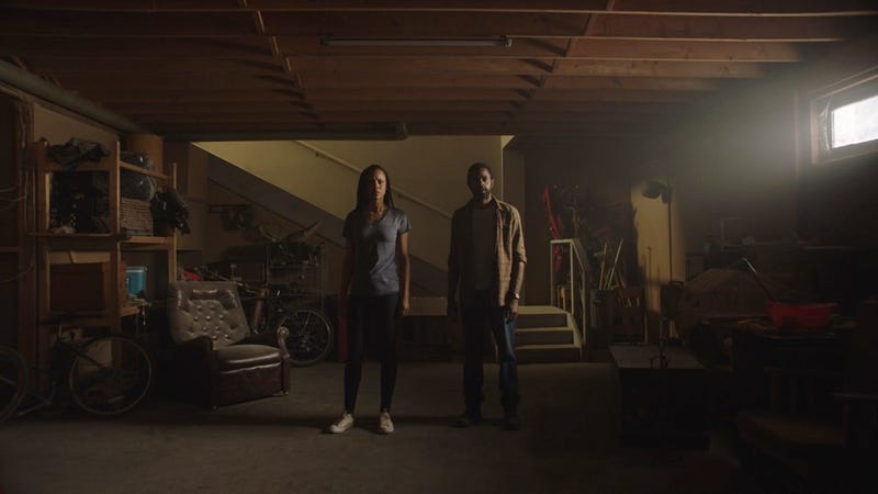 Channel Zero: The Dream Door's newlyweds discover something sinister in their otherwise not-so-creepy basement.
