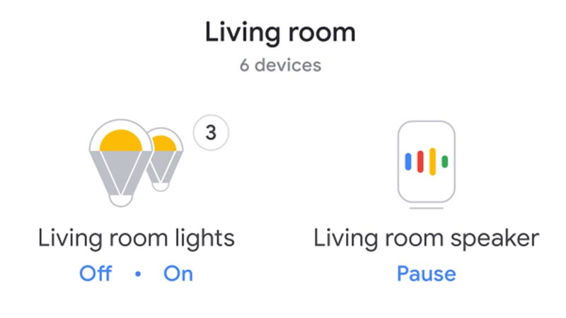 Illustration for article titled How to Create Mood Lighting With the Google Home App