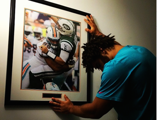 Illustration for article titled Jared Odrick Mourns The Loss Of Mark Sanchez In His Life