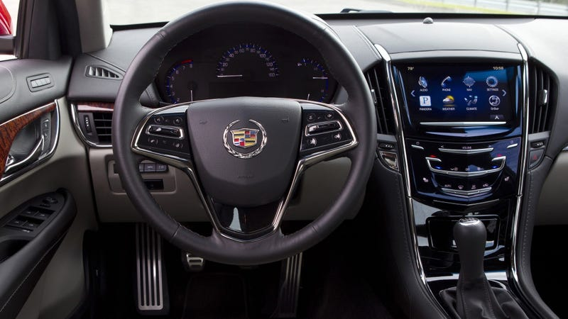 The Cadillac ATS. Photo credit Cadillac
