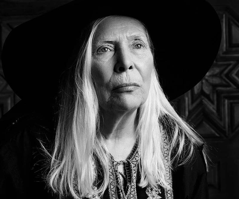 Illustration for article titled Joni Mitchell Revealed As Saint Laurent's Newest Campaign Model