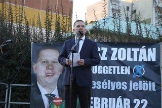 Illustration for article titled Na te Fidesz, akkora pofont kaptál Veszprémben, hogy a füled kettéáll