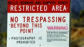 Illustration for article titled BBC film crew breaks into Area 51, gets held at gunpoint