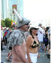 Illustration for article titled No, The Naked Viking Did Not Win Bay To Breakers