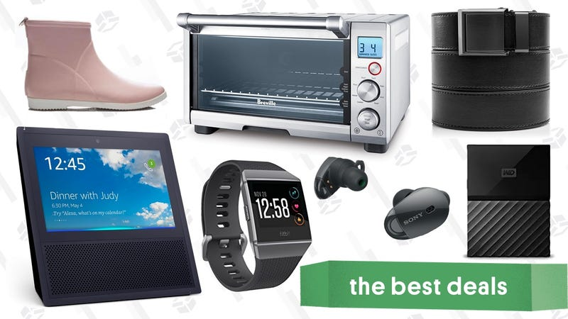 The best deals on the web for june 4 2018 rack up savings on ratchet belts our readers favorite toaster oven fitbits for your dad or grad and more great deals fandeluxe Choice Image