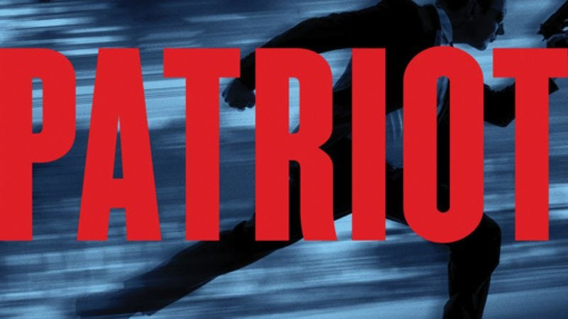 The cover of Ted Bell's Patriot
