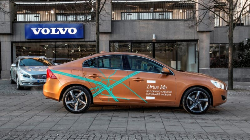 Illustration for article titled Volvo Car Group Initiates World Unique Swedish Pilot Project With Self-Driving Cars On Public Roads
