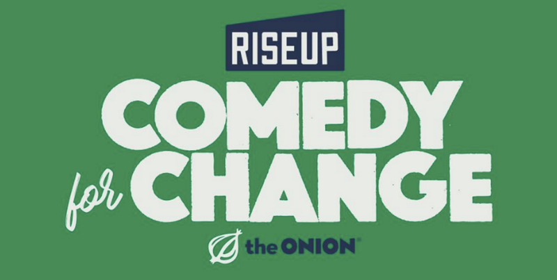 Illustration for article titled 'RiseUp: Comedy for Change' Agenda Announced