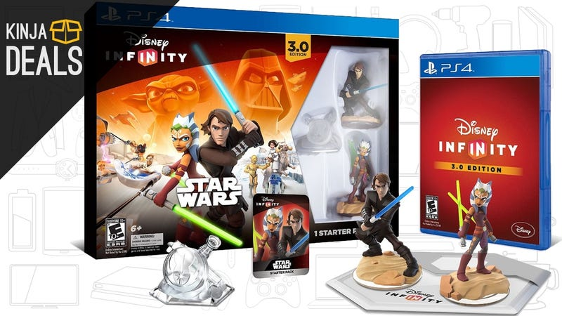 Illustration for article titled Just Let It In: Disney Infinity 3.0 Starter Sets are On Sale Today