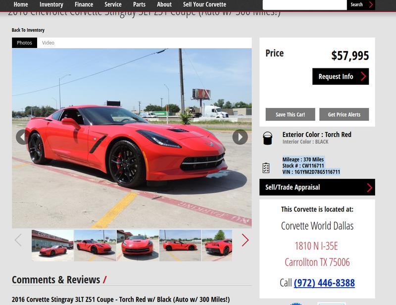 I Have No Idea Why So Many People Who Buy Corvettes Never Drive Them
