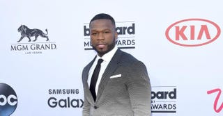 Rapper and entrepreneur 50 Cent attends the 2015 Billboard Music Awards at MGM Grand Garden Arena May 17, 2015, in Las Vegas. Jason Merritt/Getty Images