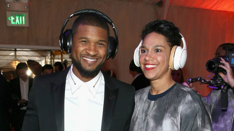 Illustration for article titled After Taking It Nice and Slow, Usher and Grace Miguel Have Finally Married